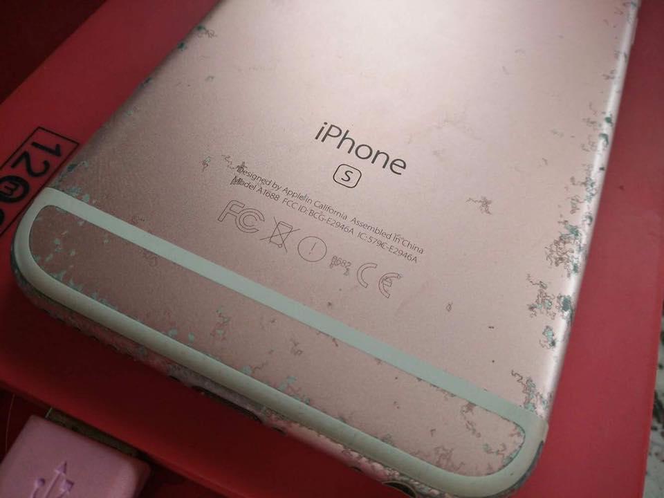สาวกไอโฟนเซ็ง ใช้ iPhone 6s