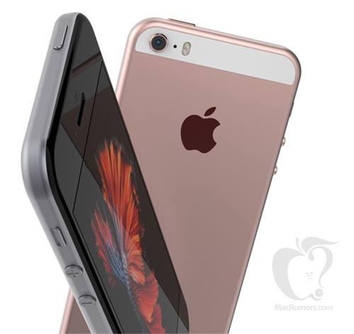 ชมภาพจำลอง iPhone SE จอ 4 นิ้ว