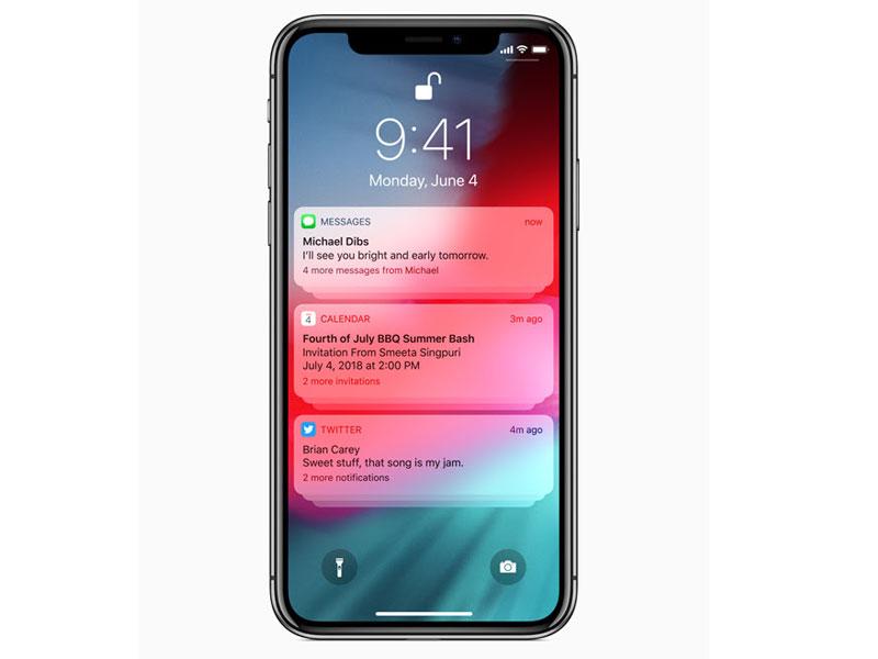 วิธีปิดการแจ้งเตือนแบบกลุ่ม (Grouped Notifications) ใน iOS 12