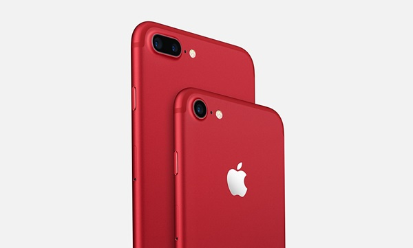 iPhone 7/7 Plus สีแดง