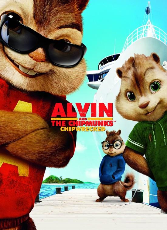 หนังใหม่ Alvin and the Chipmunks: Chipwrecked