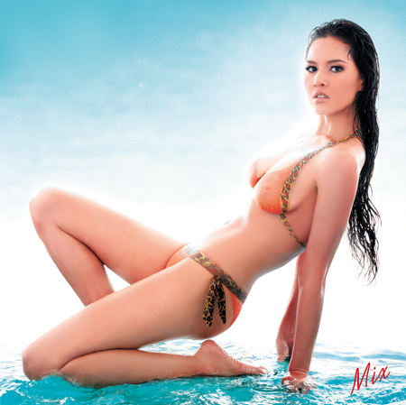 มิกซ์ เจนจิรา นางแบบ ปฏิทินลีโอ2010