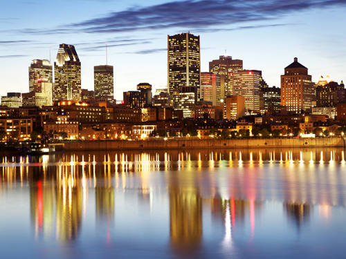 City of Montreal in Canada.
