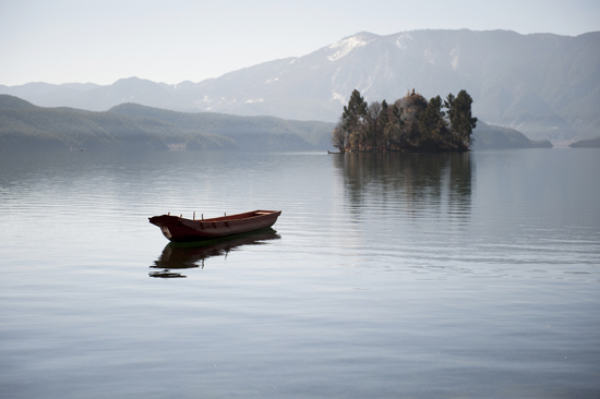Lugu Lake.