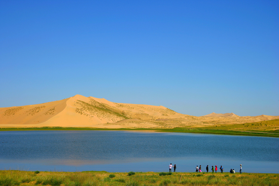 Qinghai Lake.