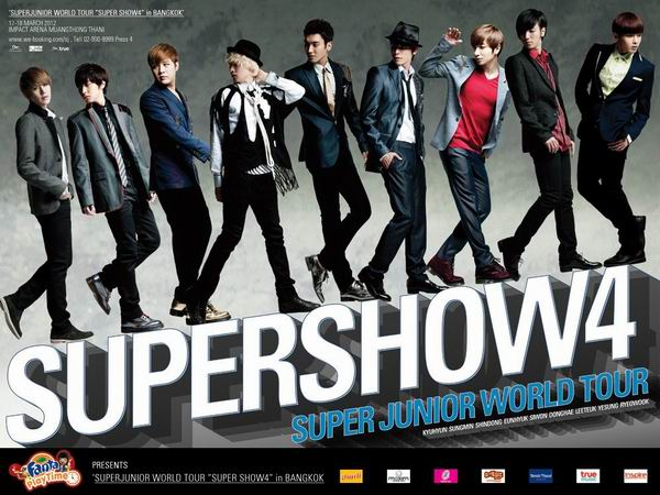 Super Junior World Tour Super Show 4 in Bangkok