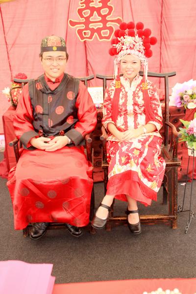 ชุดแต่งงานแบบจีน