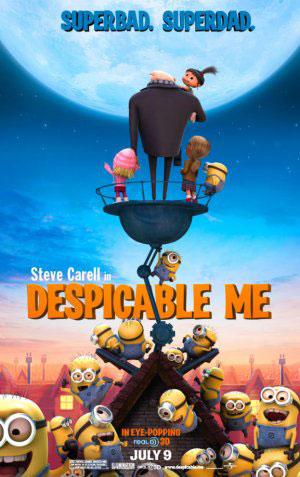 หนังการ์ตูนDespicable Me มิสเตอร์แสบร้ายเกินพิกัด