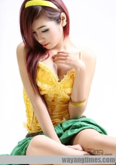 เอลลี่ เจิ่น หรือ Elly Tran Ha ก่อนศัลยกรรม