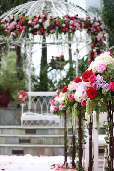 การจัดดอกไม้งานแต่งงาน