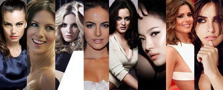 MOST BEAUTIFUL FACES 2010