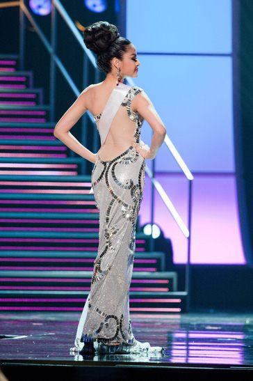 ปุ๊กลุ๊ก ฝนทิพย์ ประกวด Miss Universe 2010
