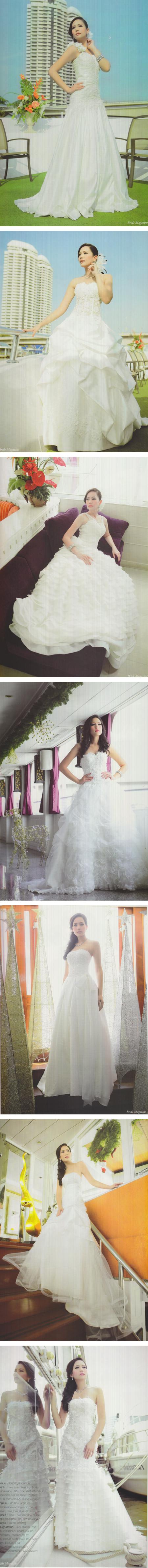ตามไปดูชุดแต่งงานสวยๆ จากห้องเสื้อชั้นนำ
