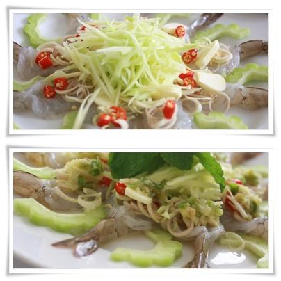 เปรี้ยวแซ่บ! อร่อยเด็ดกับ เมนูกุ้งแช่น้ำปลา