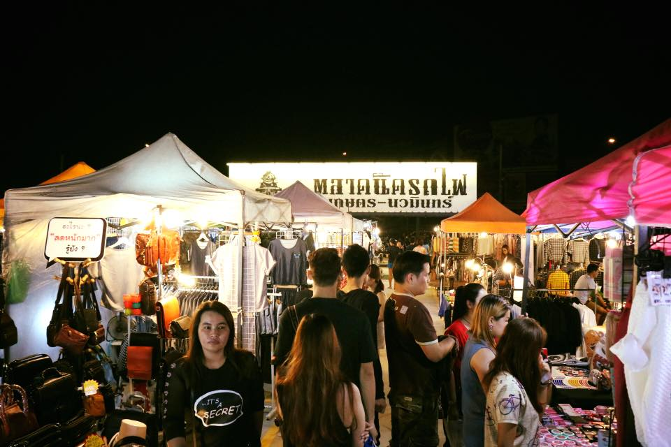 Train Night Market Kaset-Nawamin