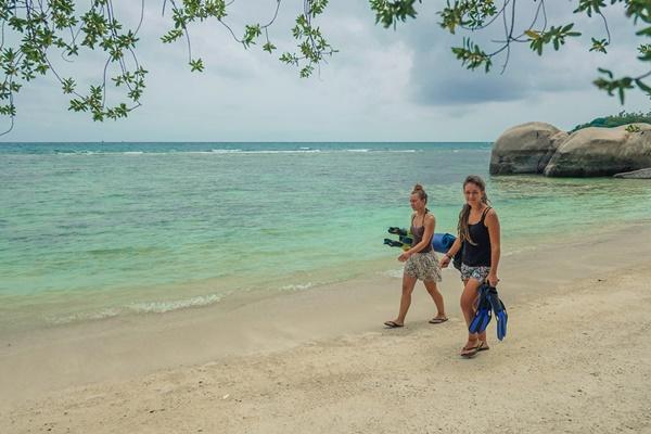 ฉายเดี่ยวเที่ยวเกาะเต่า-เกาะนางยวน ฉบับทรัพย์จางแต่อยากไปทะเล