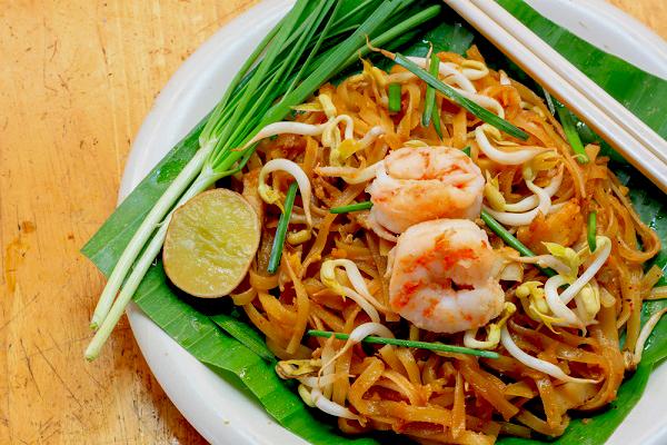 Thai food is appetizing