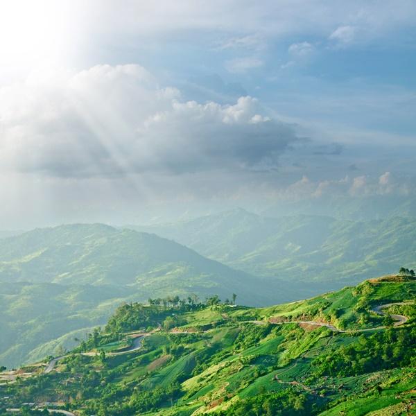 เส้นทางสุดโรแมนติกในไทย