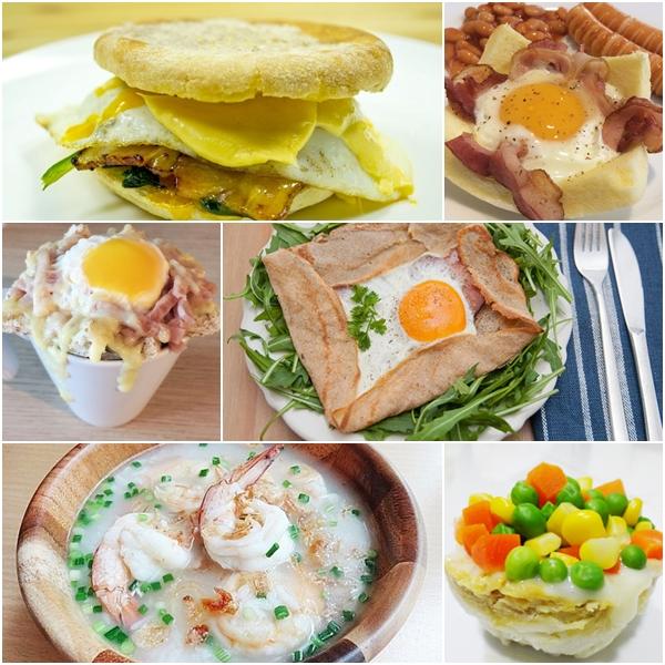 10 สูตรอาหารเช้าแบบแนว ๆ