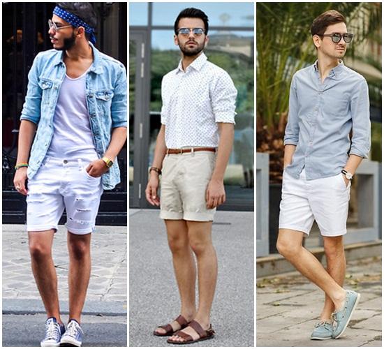 กางเกงขาสั้นแฟชั่นผู้ชาย