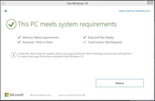 คอมพิวเตอร์ของคุณใช้งาน Windows 10 ได้หรือไม่