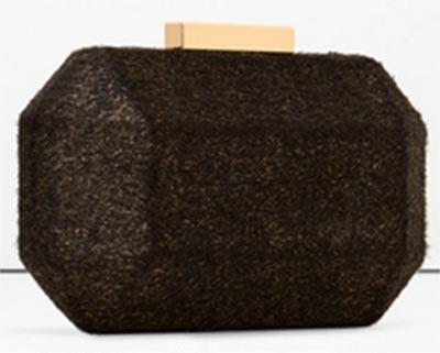 กระเป๋าคลัทช์สีดำ