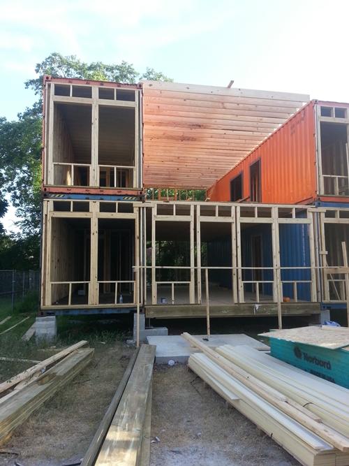 สร้างบ้านจากตู้คอนเทนเนอร์
