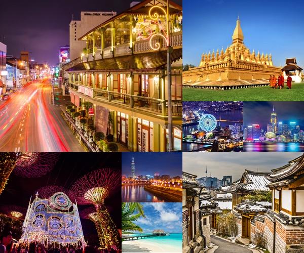 10 ประเทศสุดฮอตในเอเชีย