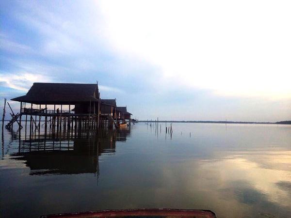 ที่พักกลางทะเล