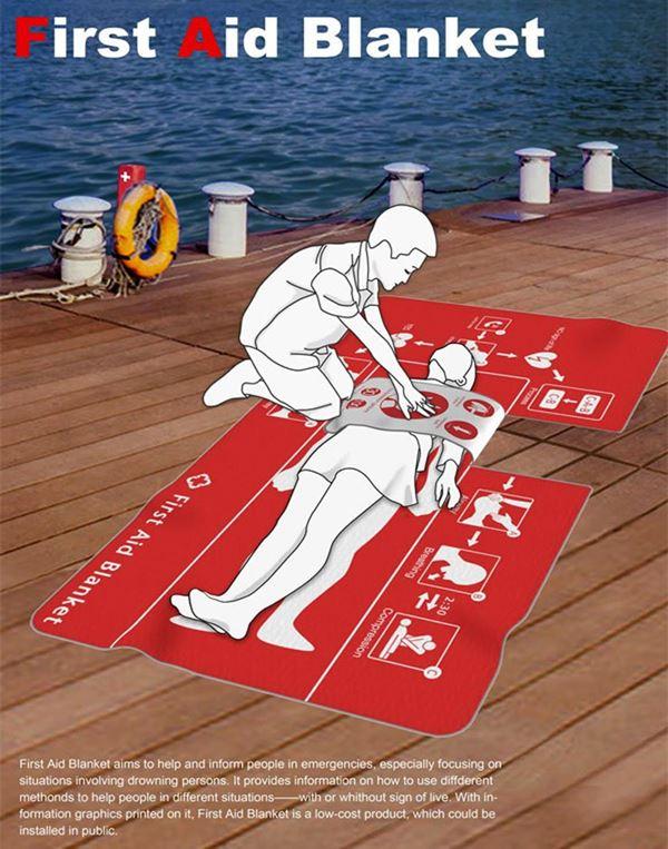 First Aid Blanket ผ้าห่มชูชีพ