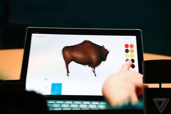 ไมโครซอฟท์เปิดตัว Paint 3D