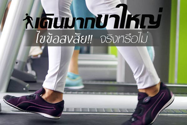 เดินออกกำลังกาย