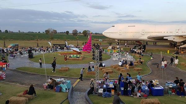 ที่เที่ยวโคราชแห่งใหม่ airplane park korat