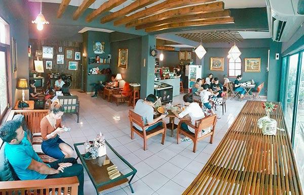 ร้านกาแฟแนววินเทจ