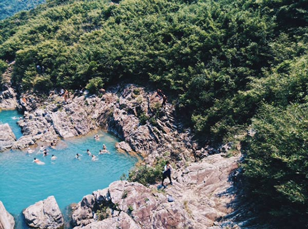 sai wan rock pools