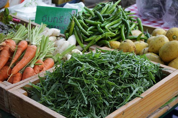 ตลาดเกษตรอินทรีย์