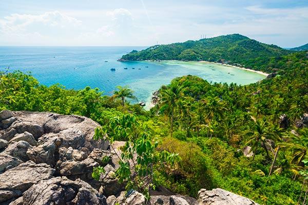 สถานที่ท่องเที่ยวเกาะเต่า