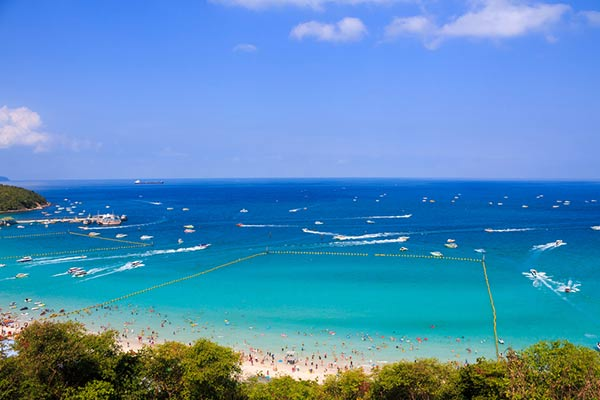 สถานที่ท่องเที่ยวเกาะล้าน