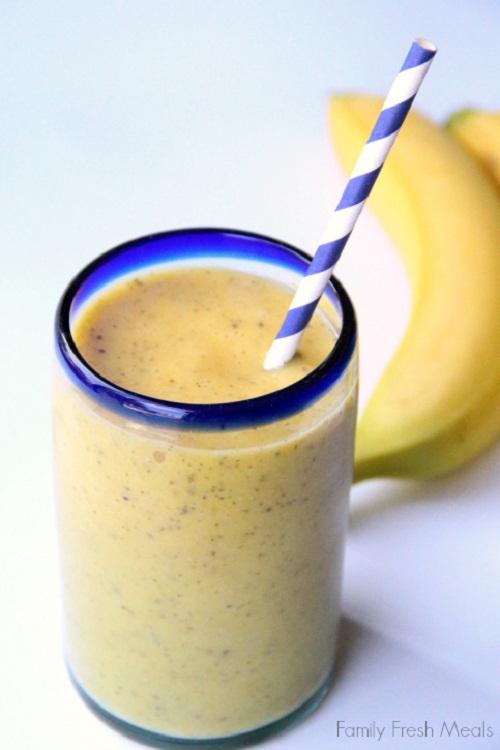 สูตรเครื่องดื่มจากกล้วย
