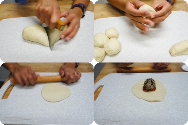 ซาลาเปาไส้หมูสับไข่ต้ม