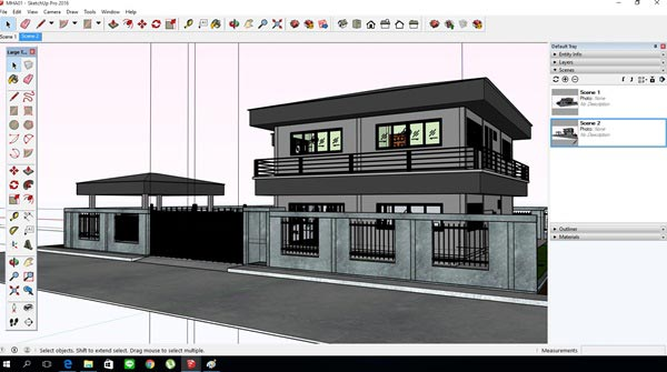 วิธีออกแบบบ้านเอง