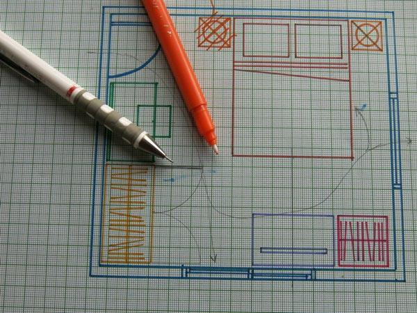 ออกแบบห้องนอนขนาดเล็ก