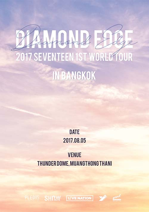 SEVENTEEN 1ST WORLD TOUR DIAMOND EDGE IN BANGKOK