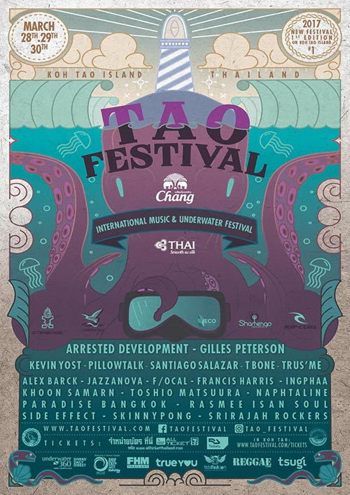 Tao International Music Underwater Festival 2017