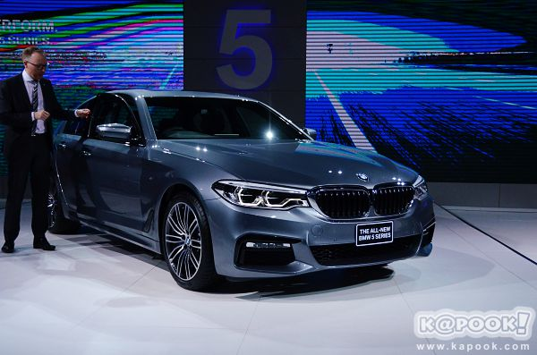 All-new BMW 5 Series 2017