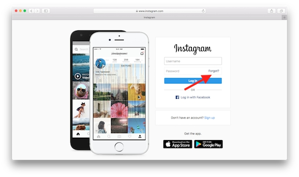 Instagram-Reset-Password