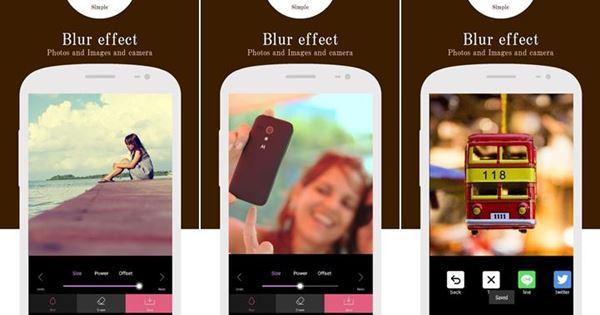 5 แอพฯ แต่งรูป Android หน้าชัดหลังเบลอ