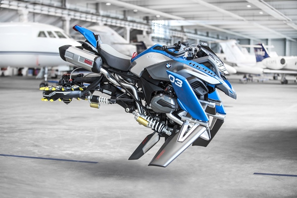 Hover Ride Design Concept มอเตอร์ไซค์บินได้