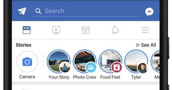 เฟซบุ๊กยกเลิก Messenger Day