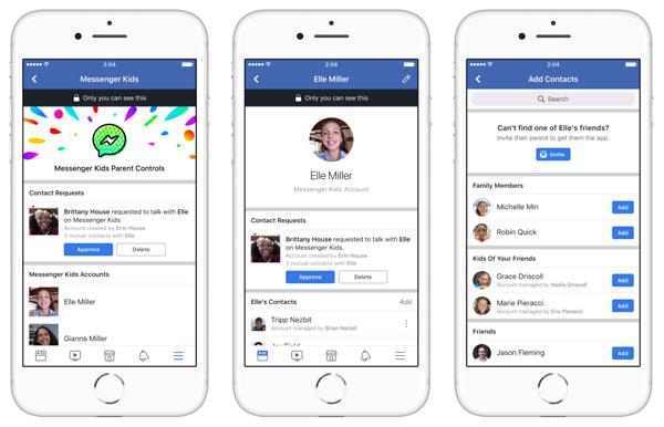 Facebook เปิดตัว Messenger Kids